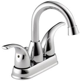Superbe Peerless Tempo Chrome 2 Handle 4 In Centerset Bathroom Sink Faucet