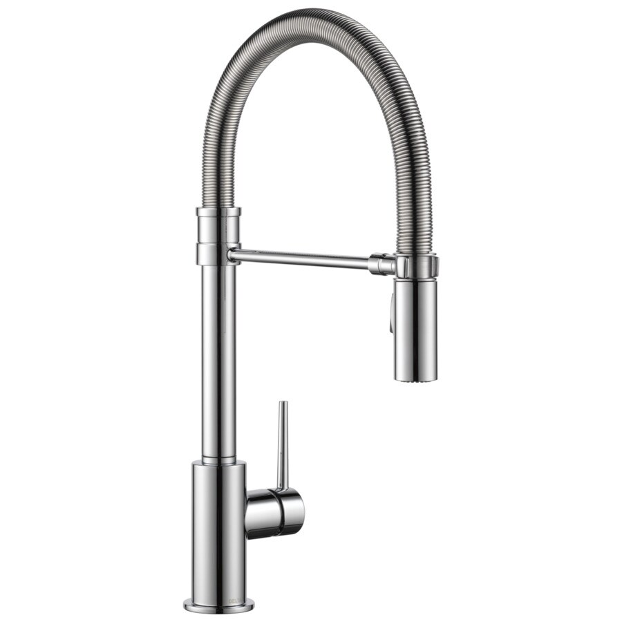 Delta Trinsic Pro Chrome 1-Handle Pull-Down Kitchen Faucet
