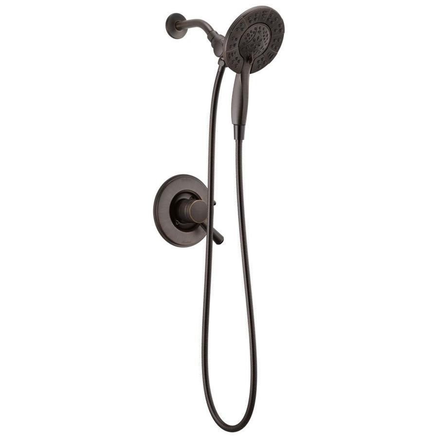 Delta Linden Venetian Bronze 1 Handle Shower Faucet At