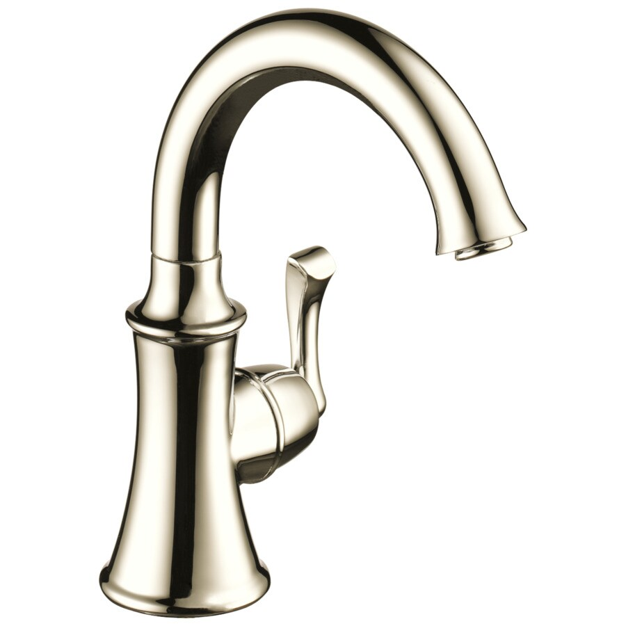 Delta Polished Nickel Touchless Handle(S) Included Bar and Prep Faucet
