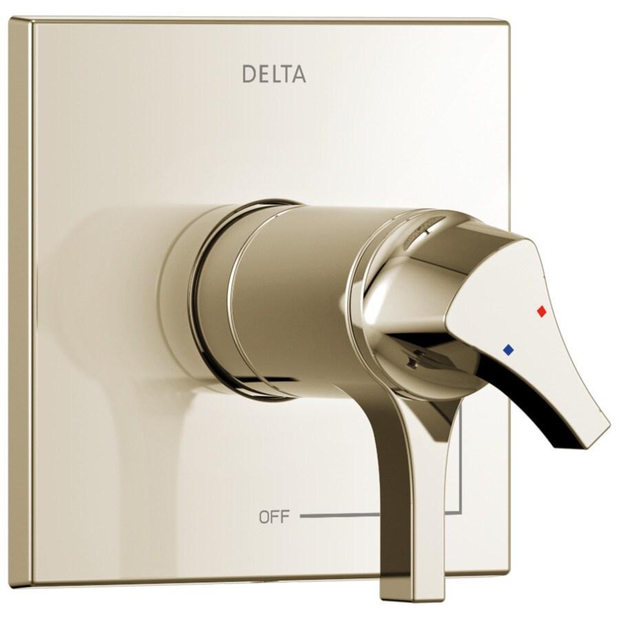 Delta Polished Nickel Lever Shower Handle