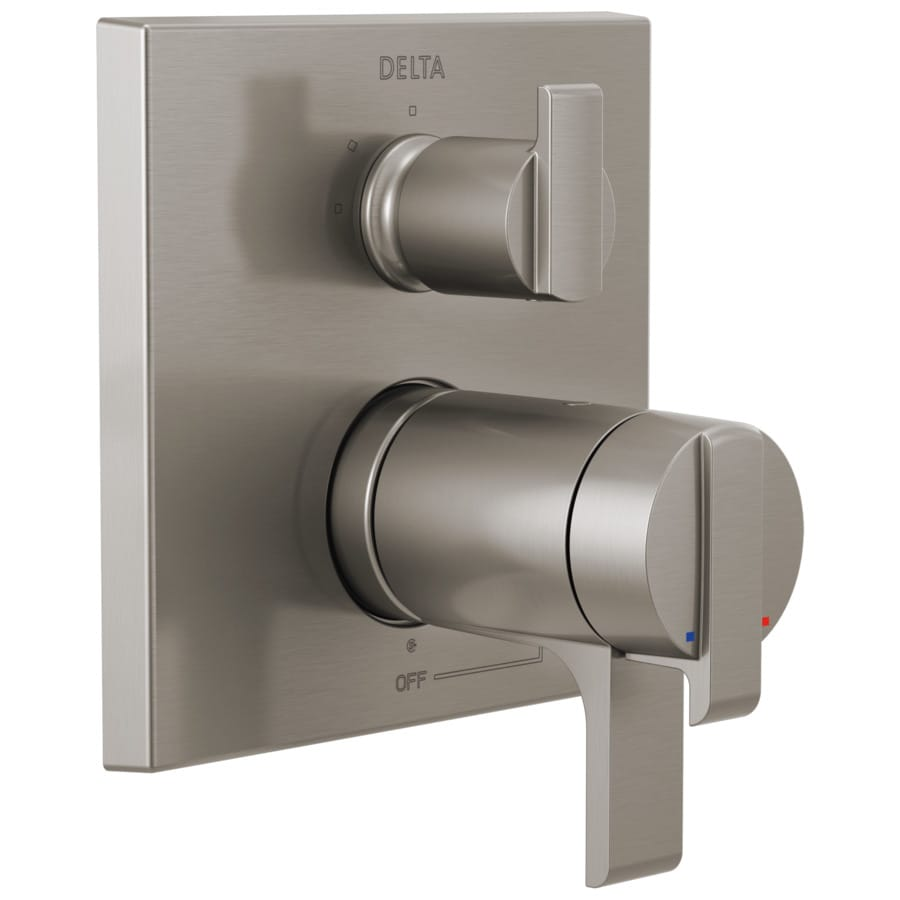 Delta Stainless Lever Shower Handle