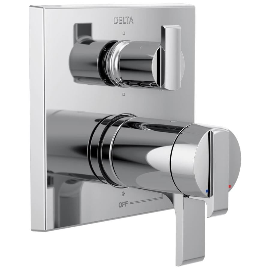 Delta Ara Chrome 2 Handle Bathtub And Shower Faucet At