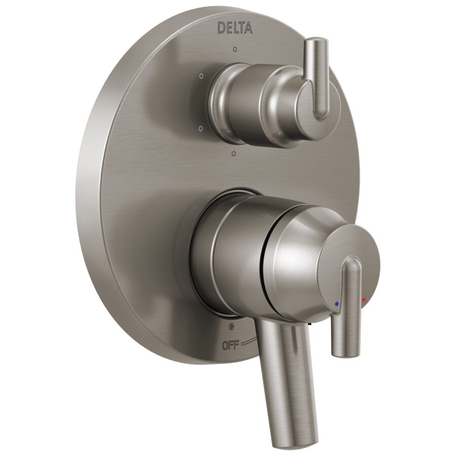 Delta Contemporary Monitor 17 Series Valve Trim with 6-Setting Integrated Diverter