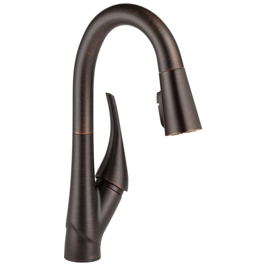 Delta Esque Venetian Bronze 1-Handle Bar and Prep Faucet