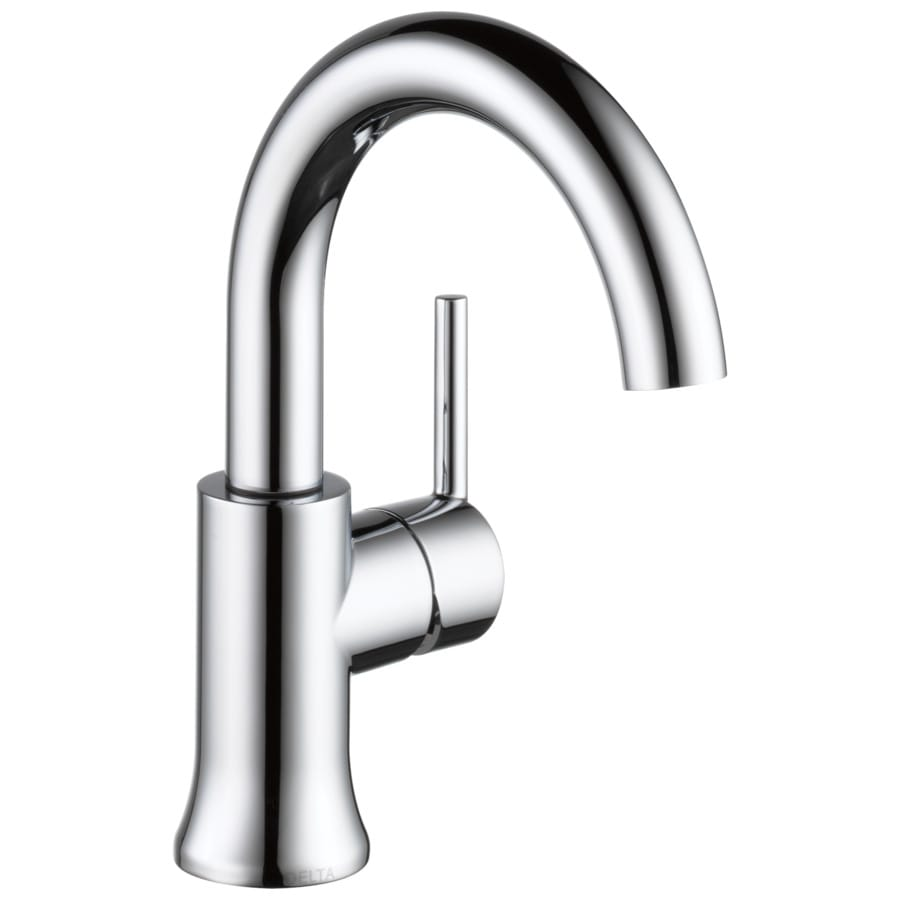 Shop delta trinsic chrome 1 handle single hole watersense for Delta trinsic