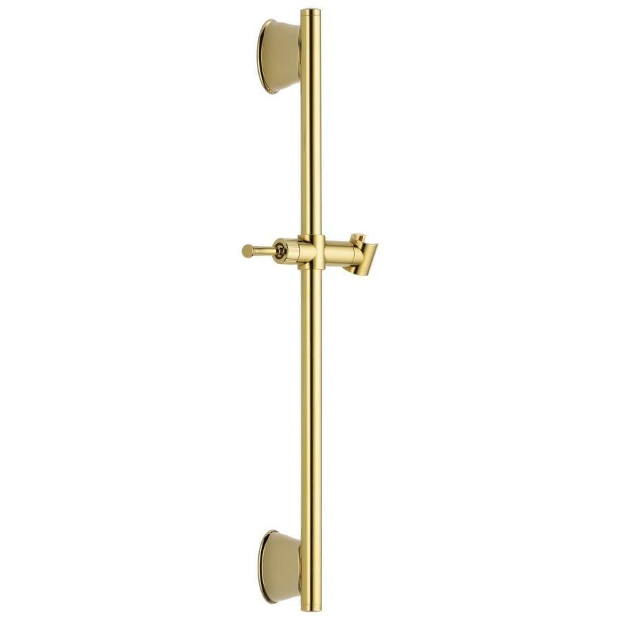 Delta Polished Brass Slide Bar