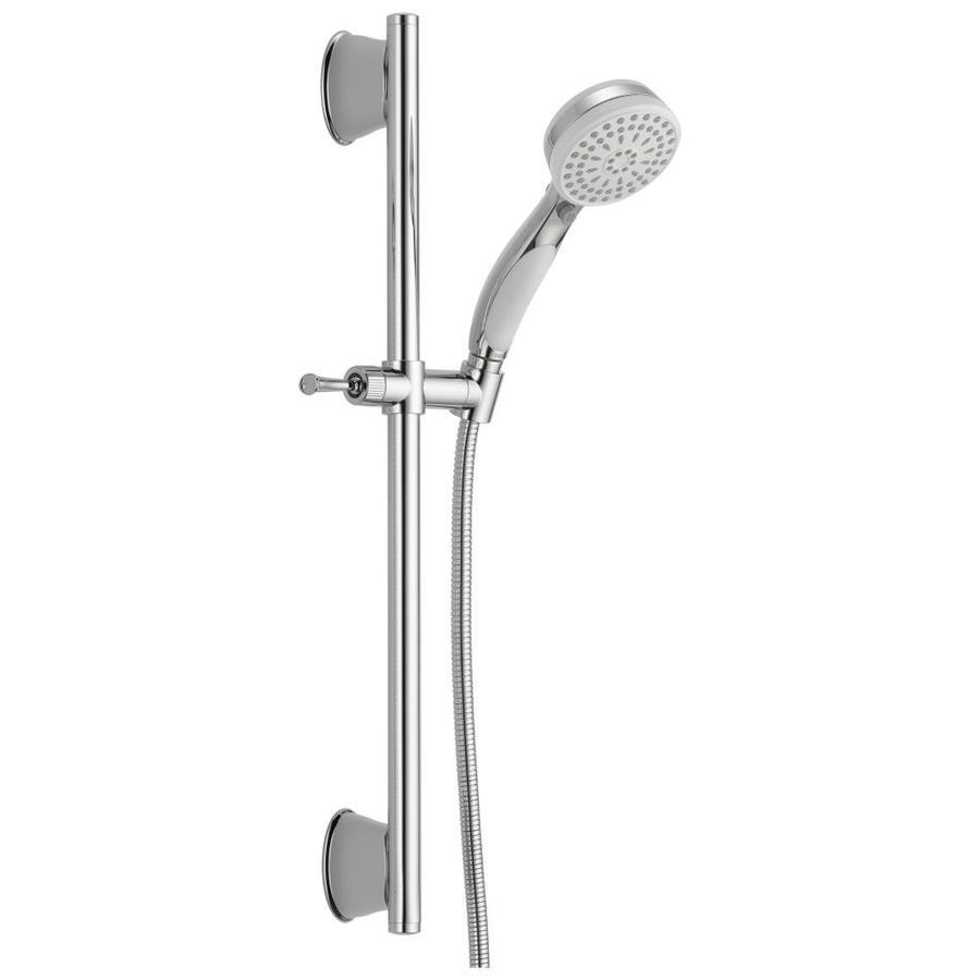 Delta White/Chrome 1-Spray Shower Head