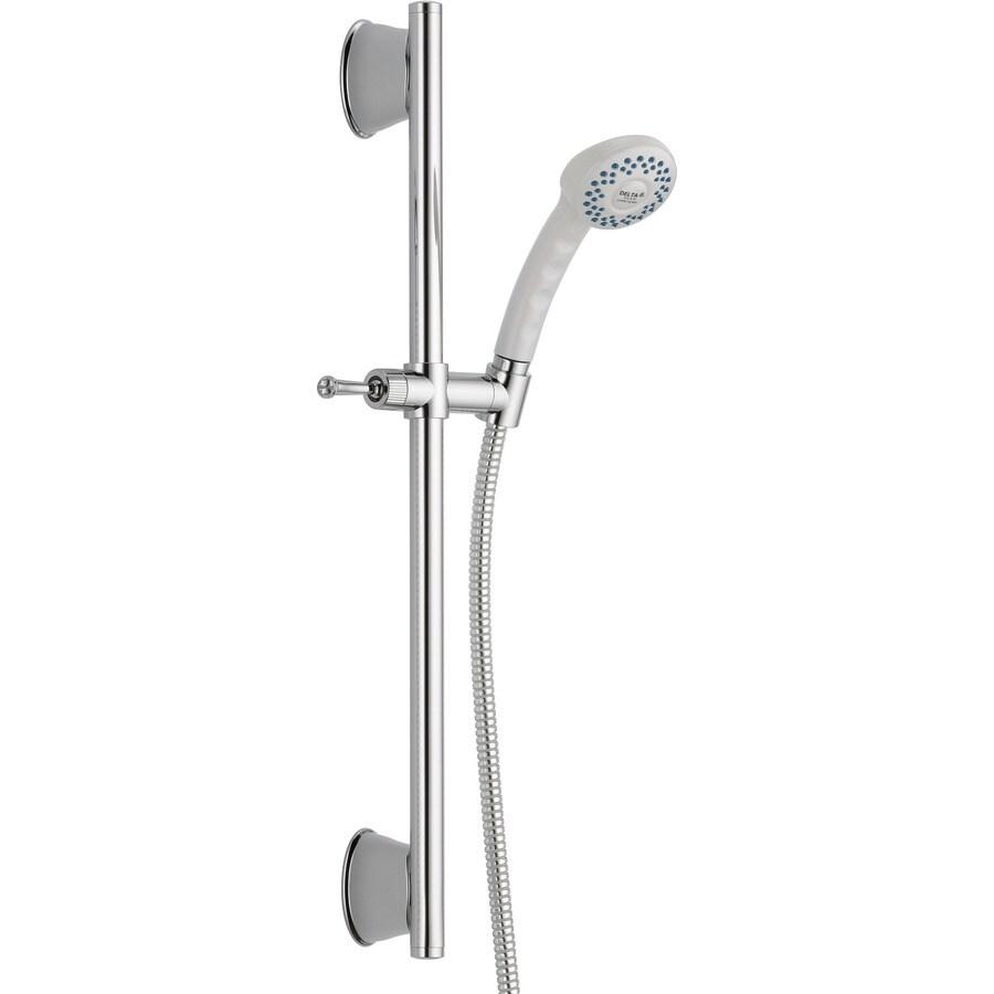 Delta White 1-Spray Shower Head