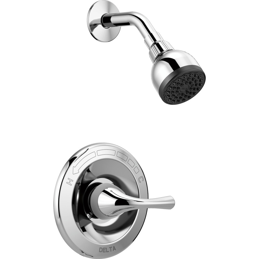 Delta Foundations Chrome 1-handle Shower Faucet with Valve