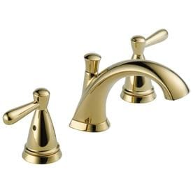 Superieur Peerless Bayside Polished Brass 2 Handle Widespread WaterSense Bathroom  Sink Faucet With Drain