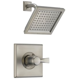Jacuzzi Mincio Brushed Nickel 1 Handle Shower Faucet With Valve In The Shower Faucets Department At Lowes Com