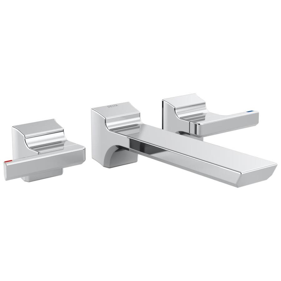 Delta Pivotal Chrome 2-Handle Widespread Bathroom Sink Faucet