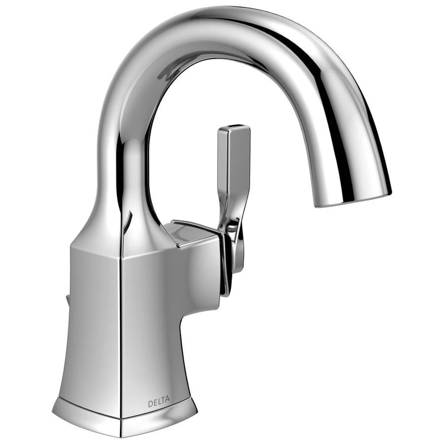 Delta Sawyer Chrome 1 Handle Single Hole Watersense