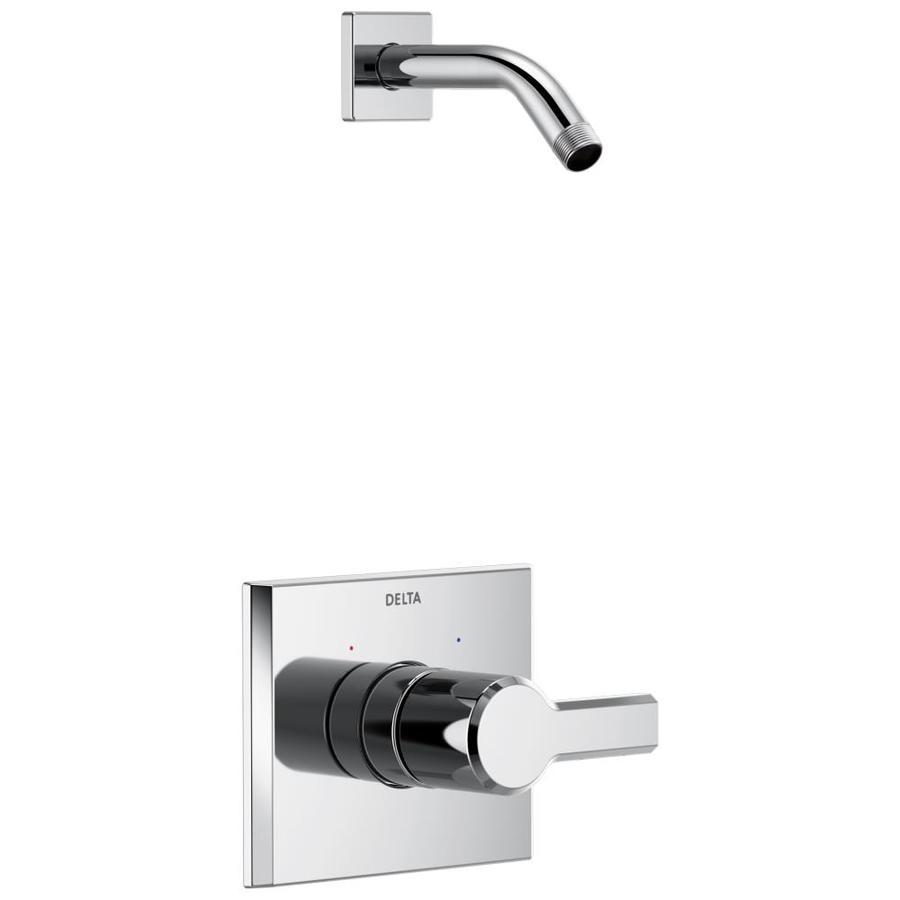 Delta Pivotal Chrome 1-Handle Shower Faucet
