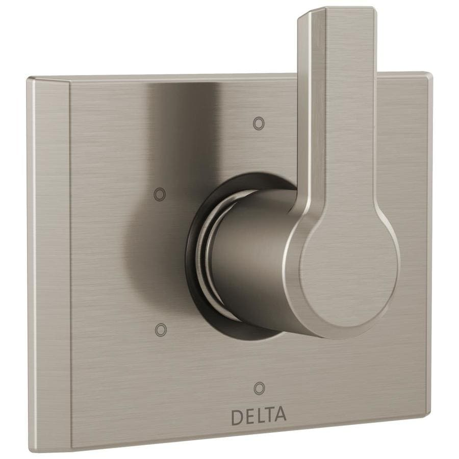 Delta Pivotal Stainless 1-Handle Shower Faucet