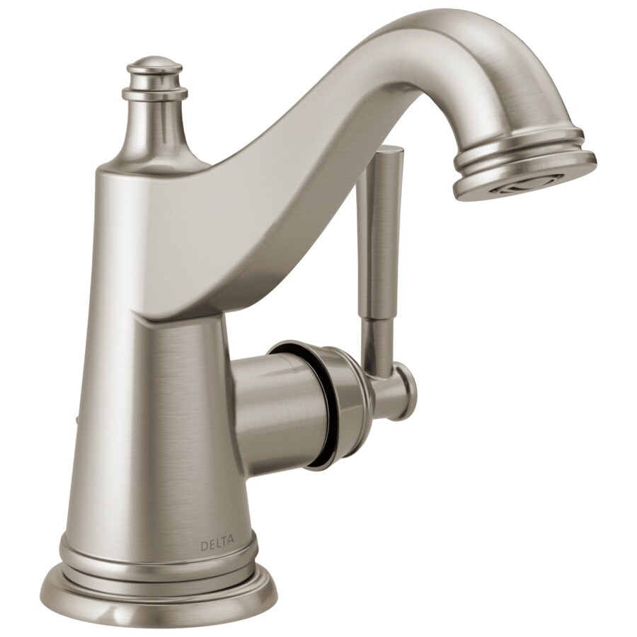 Delta Mylan Spotshield Brushed Nickel 1-Handle Single Hole ...