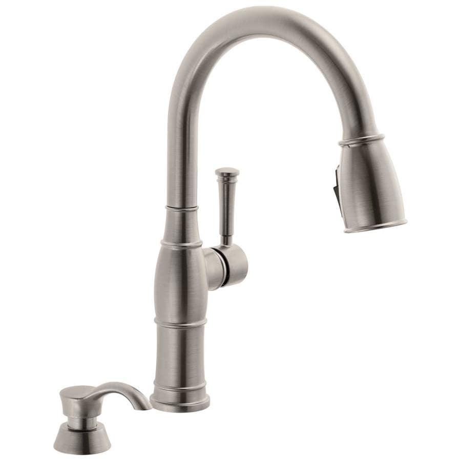 Delta Valdosta Venetian Bronze  Handle Pull Down Kitchen Faucet