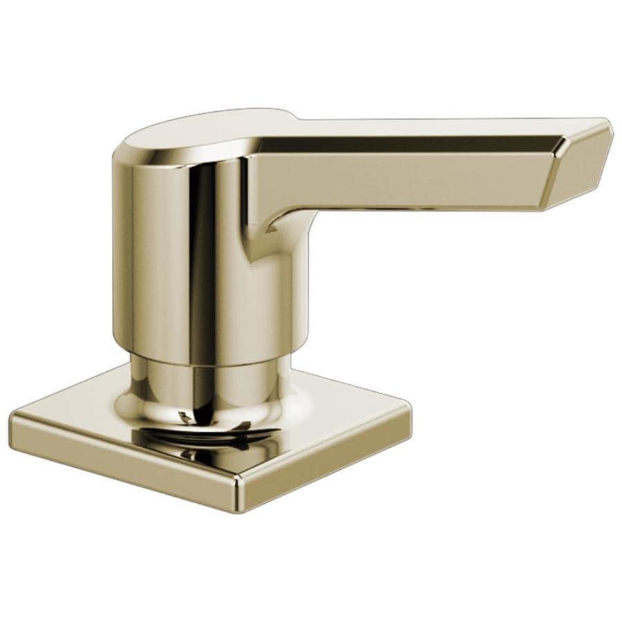 Delta Rp91950pn Pivotal Soaplotion Dispenser Polished Nickel At