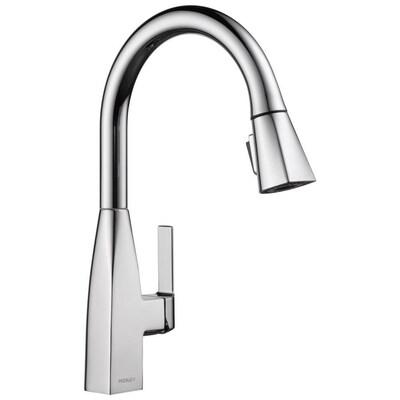 Xander Chrome 1-handle Deck Mount Pull-down Kitchen Faucet