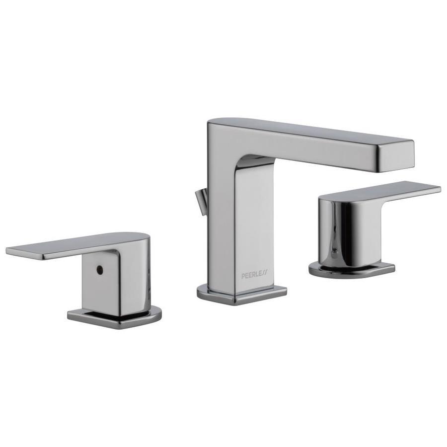 Peerless Bathroom Faucets: Shop Peerless Xander Chrome 2-Handle Widespread Bathroom