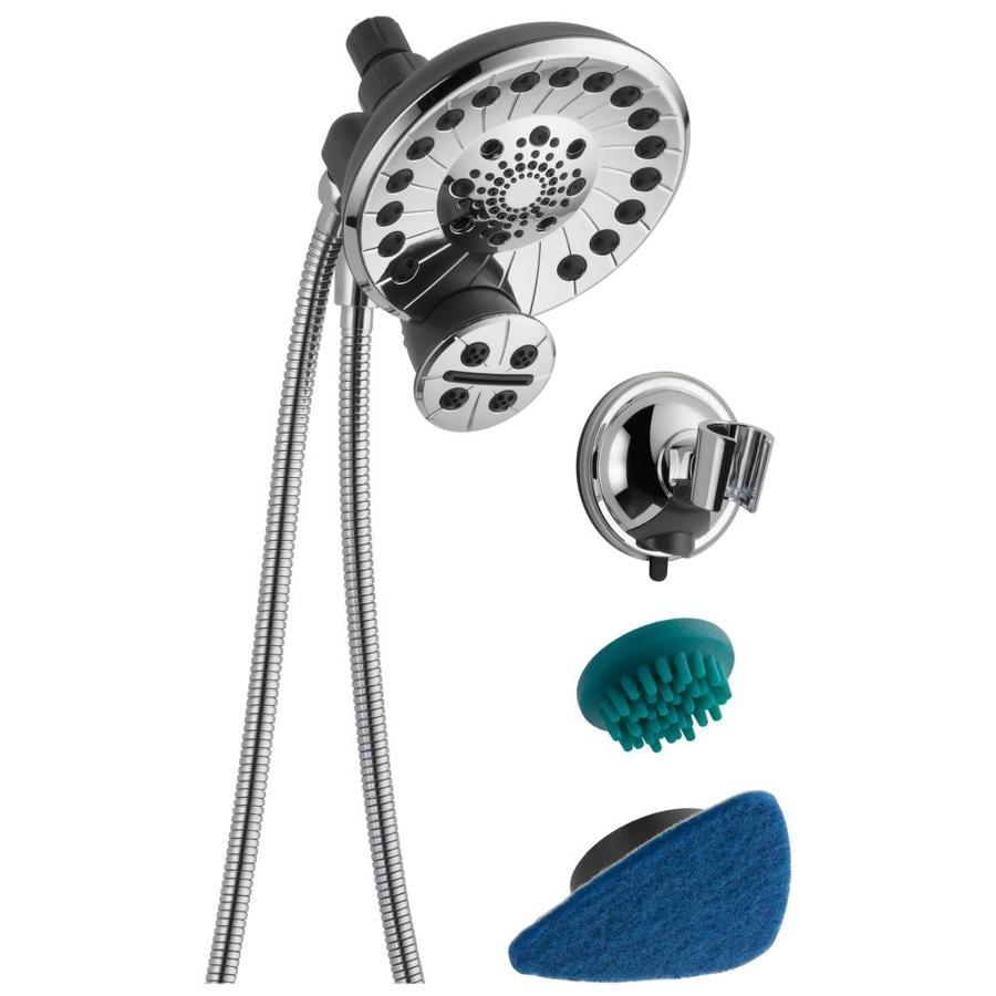 Shop Peerless SideKick Shower System Chrome 4-Spray Shower Head With ...