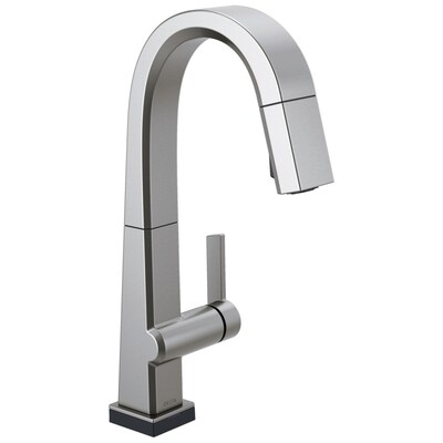 Pivotal Arctic Stainless 1-handle Deck Mount Bar and Prep Touch Kitchen  Faucet