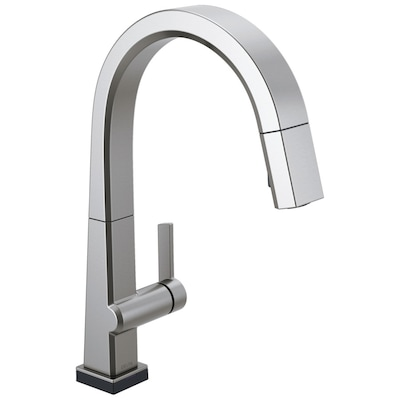 Pivotal Arctic Stainless 1-Handle Deck Mount Pull-down Touch Residential  Kitchen Faucet