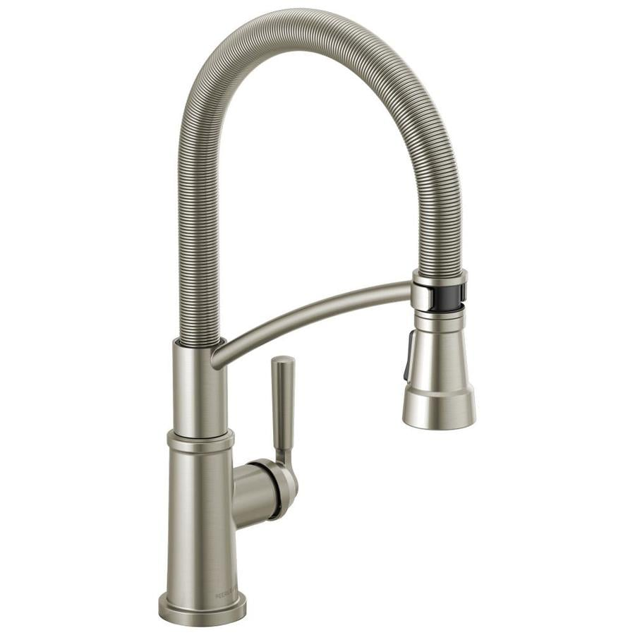 Peerless Westchester Stainless 1 Handle Pull Down Kitchen Faucet At