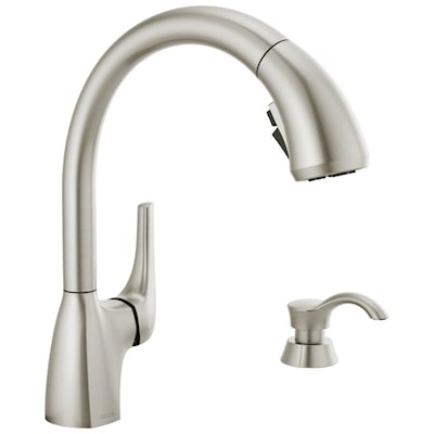 Delta Pull Out Kitchen Faucets At Lowes Com