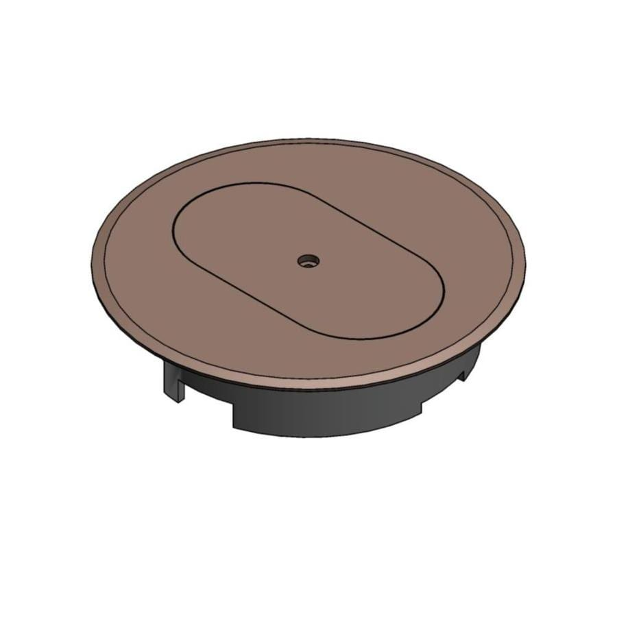 Shop CARLON Round Plastic Electrical Box Cover At