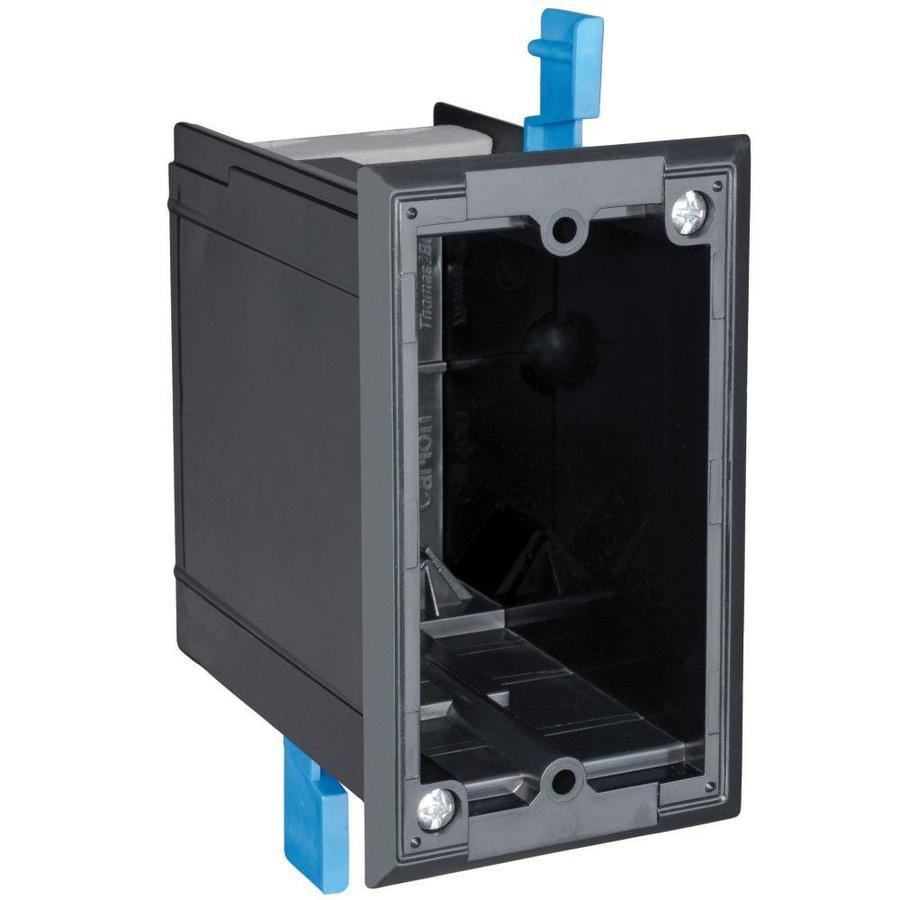CARLON 18-cu in 1-Gang Plastic Old Work Wall Electrical Box