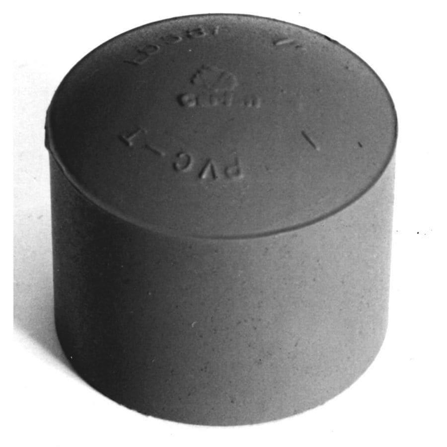 """Carlon® 1 1/4"""" PVC End Cap"""