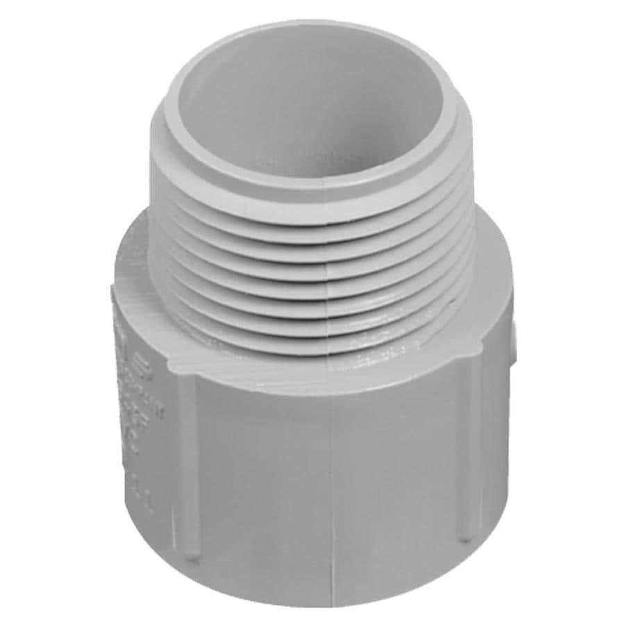 """CARLON 1-1/2"""" PCV Non-Metallic Terminal Adapter"""