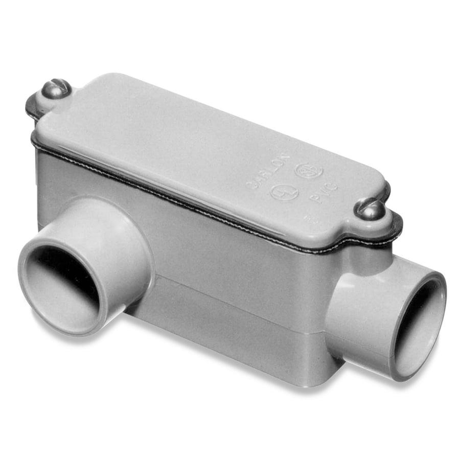 Shop Carlon 1 Quot Pvc Type Lr Non Metallic Conduit Body At