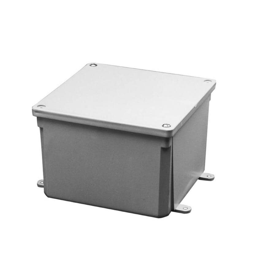 Shop CARLON Gray Weatherproof Pvc Junction Box at Lowes.com