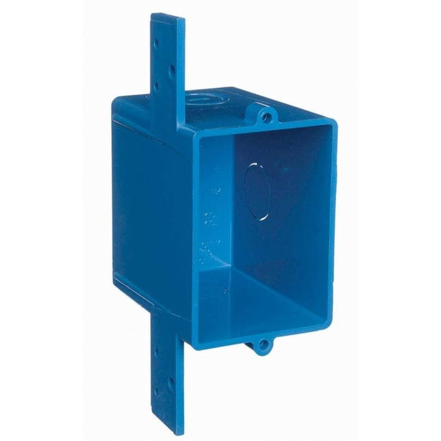 Electrical Wall Boxes : Shop carlon gang blue plastic interior old work standard
