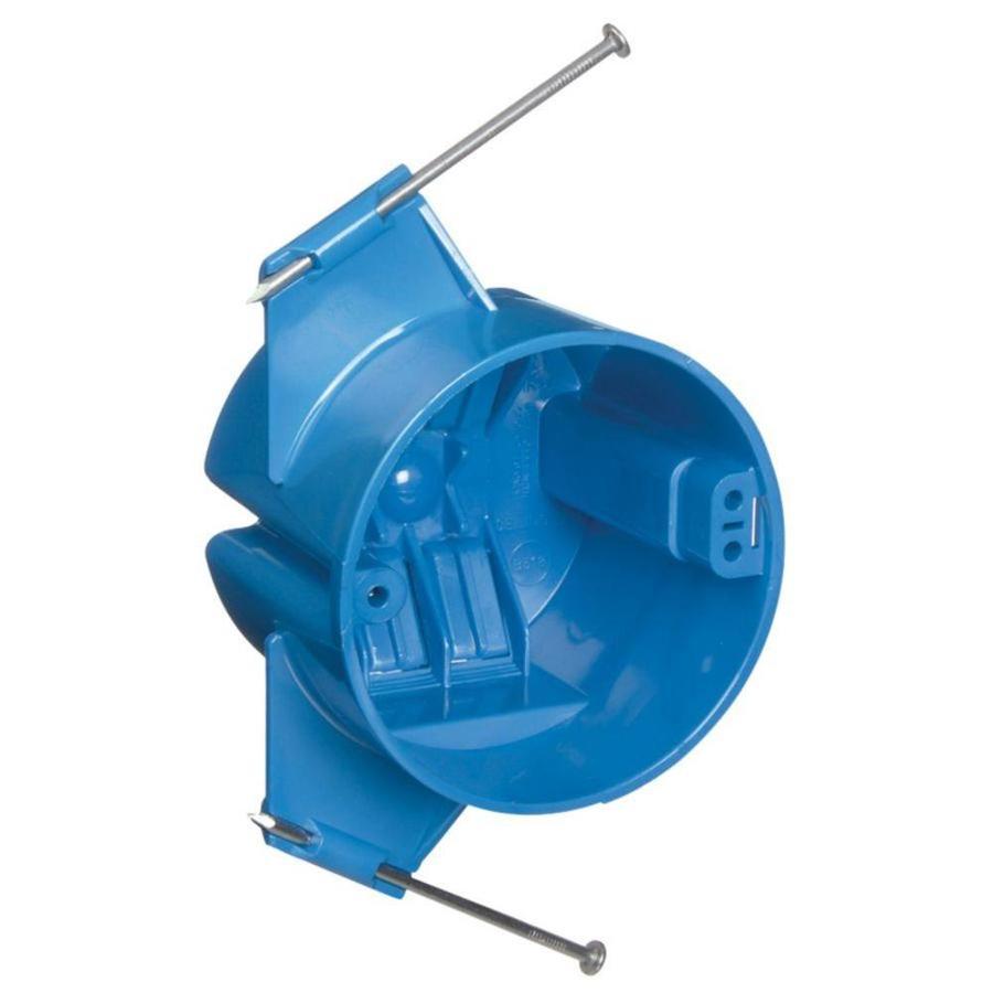 CARLON 18-cu in 1-Gang Plastic Ceiling Electrical Box