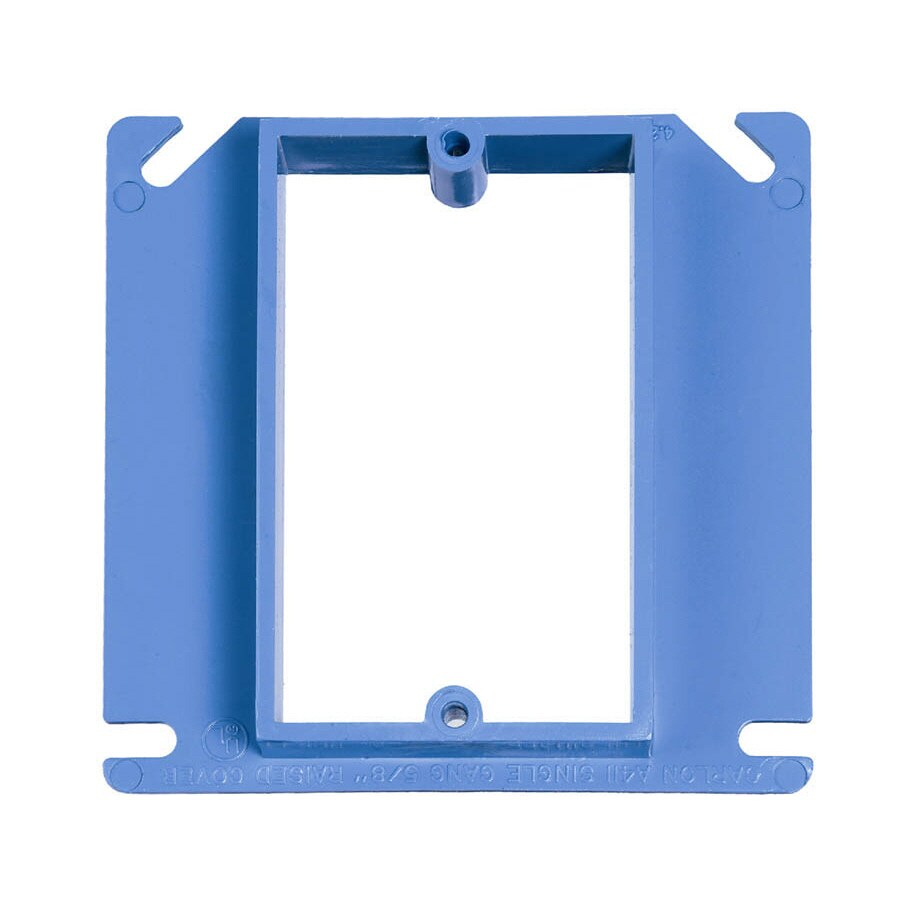 CARLON 1-Gang Rectangle Plastic Electrical Box Cover