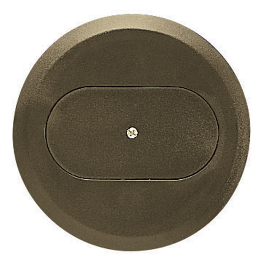 Plastic Weatherproof Electrical Boxes: CARLON Round Plastic Weatherproof Electrical Box Cover At