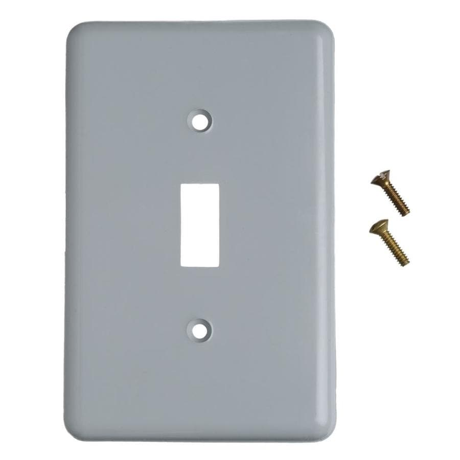 CARLON 1-Gang Rectangle Plastic Weatherproof Electrical Box Cover