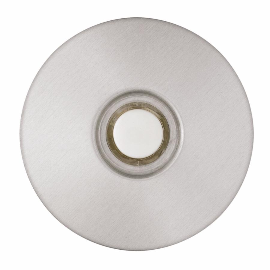 Superieur CARLON Wired Satin Nickel Door Chime Button