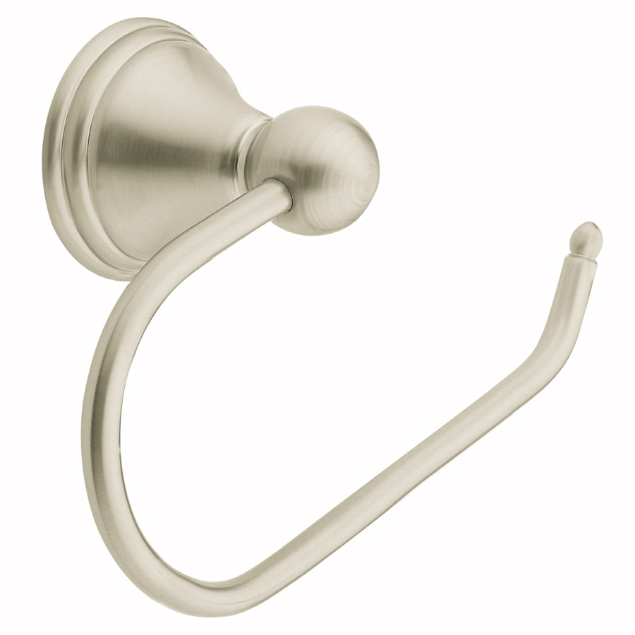 Moen Preston Spot Resist Brushed Nickel Surface Mount Toilet Paper