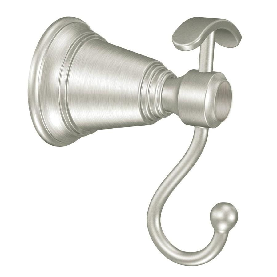 Moen Rothbury 1-Hook Brushed Nickel Robe Hook
