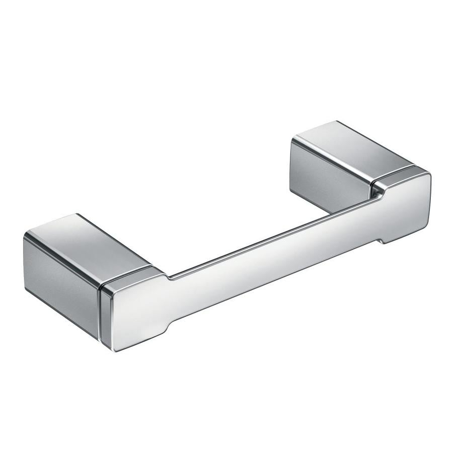 Moen 90 Degree Chrome Surface Mount Toilet Paper Holder