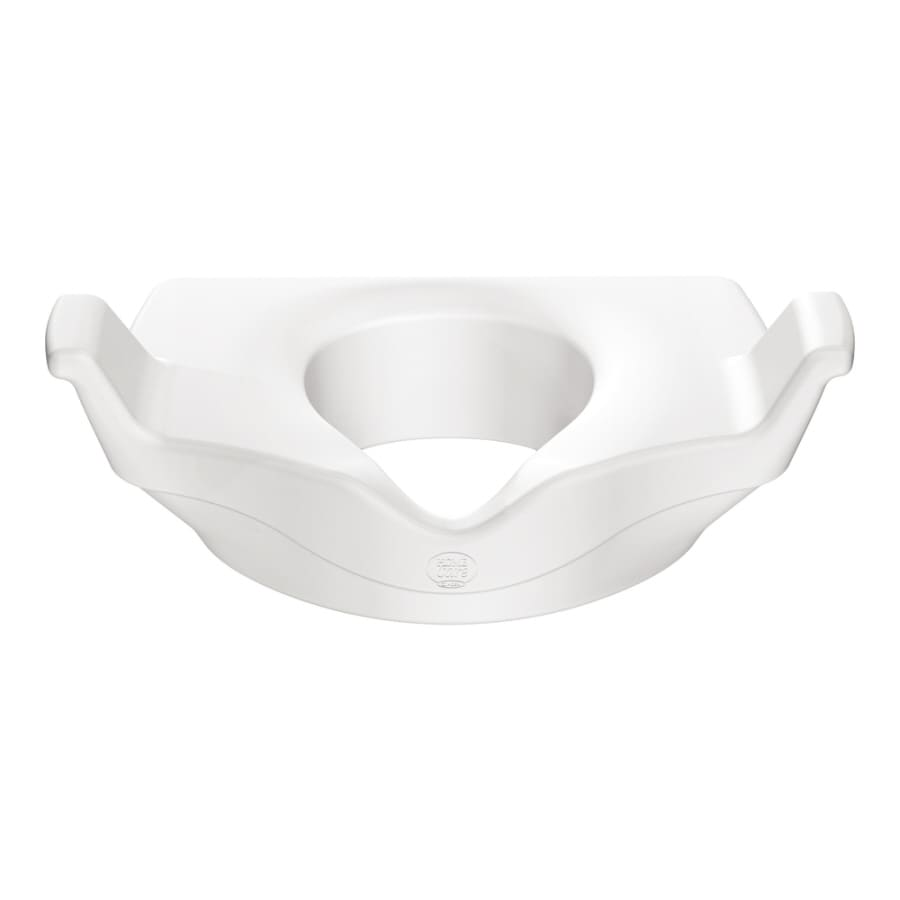 Shop Moen Home Care White Elevated Toilet Seat at Lowes.com
