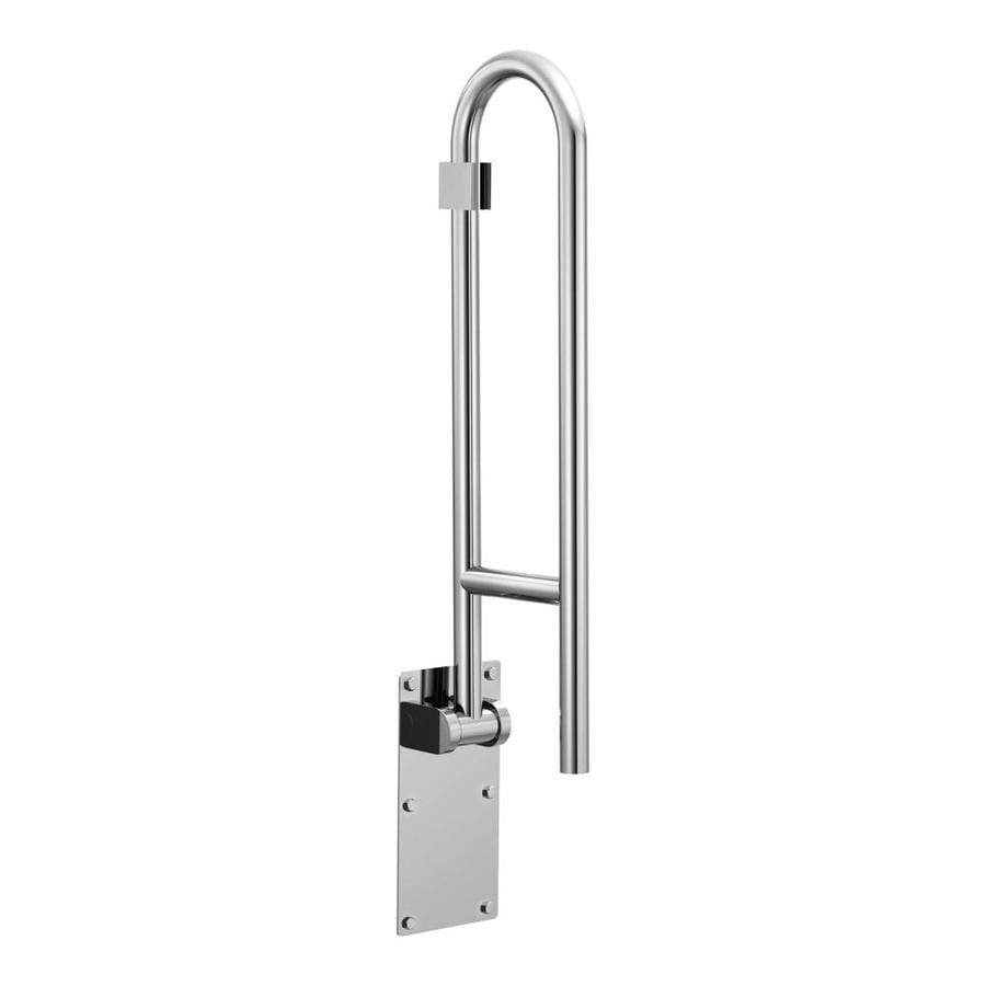Attractive Moen Flip Up 29 In Stainless Wall Mount Grab Bar