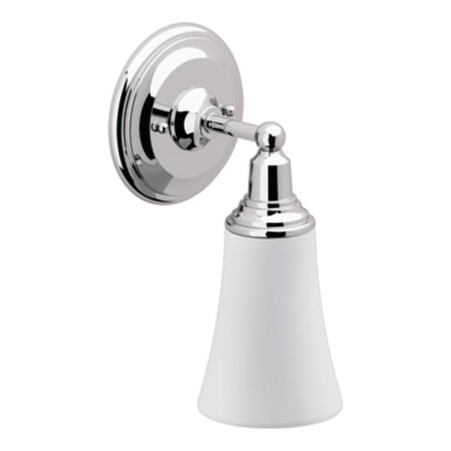 Shop Moen Rothbury 1 Light 10 5 In Chrome Globe Vanity Light At