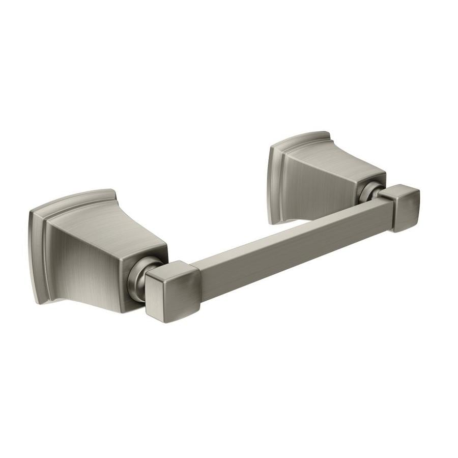 Moen Boardwalk Spot Resist Brushed Nickel Surface Mount Toilet Paper Holder