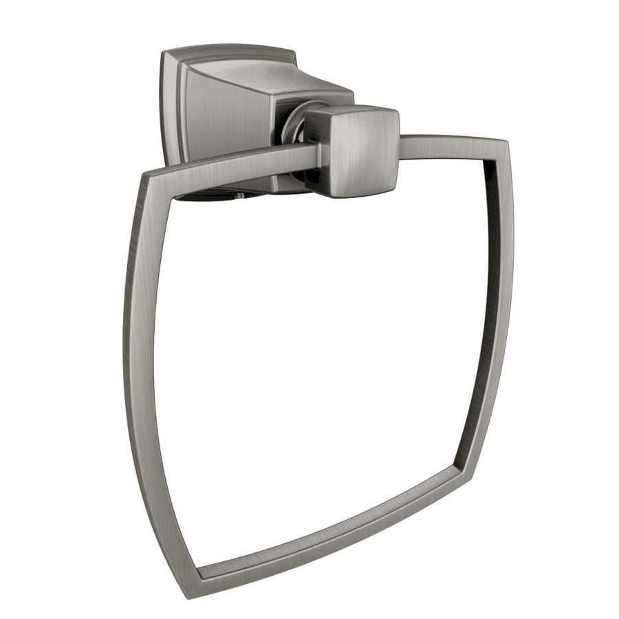 Moen Boardwalk Spot Resist Brushed Nickel Wall Mount Towel Ring